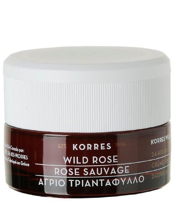 Wild Rose 24-Hour Moisturising Cream 40ml
