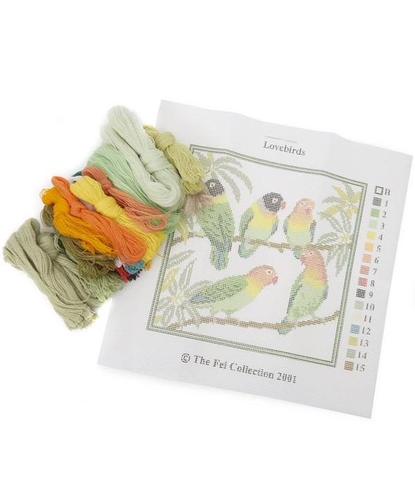 Lovebirds Needlepoint Kit