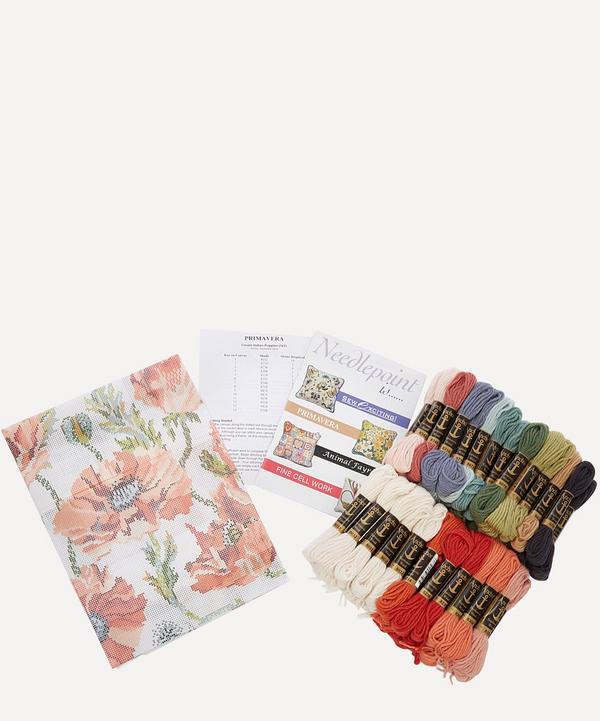 Indian Poppies Needlepoint Kit