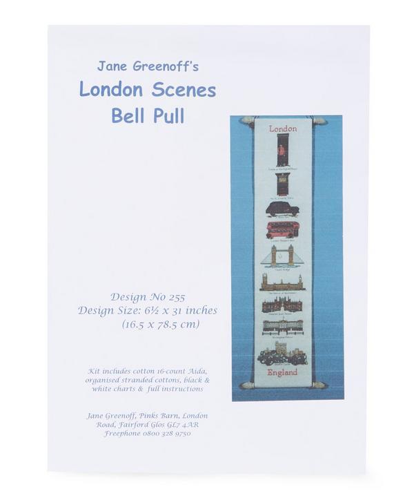 Jane Greenoff's London Scenes Bell Pull