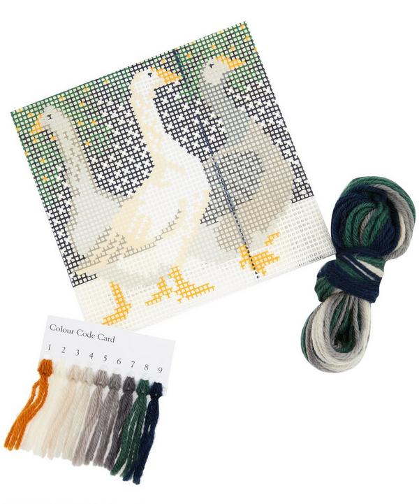Snow Geese Mini Tapestry Kit