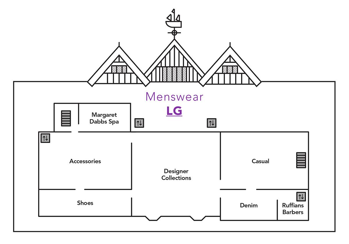 Menswear Launch Map