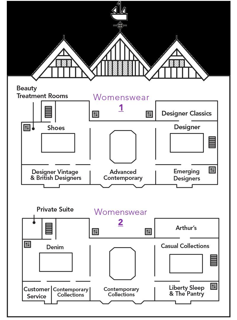 Womenswear Launch Map