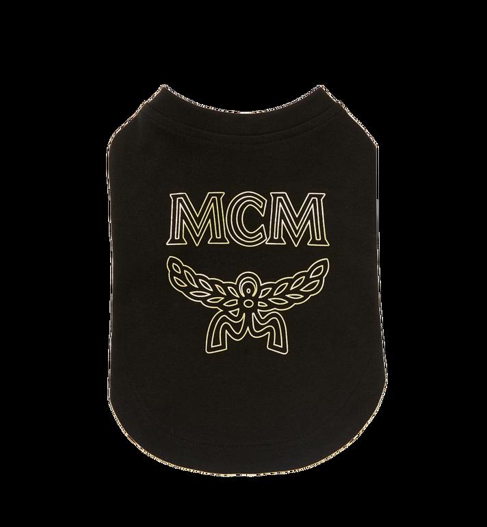 MCM Logo Dog T-Shirt MCT8SVP03BK00L AlternateView2