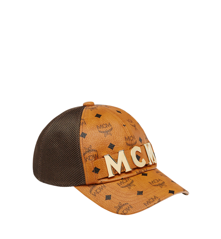 MCM MCM Letter Mesh Cap in Visetos MEC8AMM14CO001 AlternateView