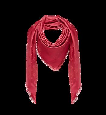 MCM Classic Jacquard Square Scarf in Silk Wool MEF7AMM01RW001 AlternateView