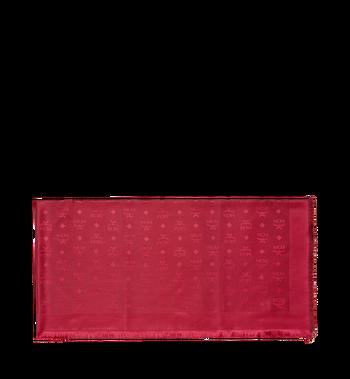 MCM Classic Jacquard Square Scarf in Silk Wool MEF7AMM01RW001 AlternateView2