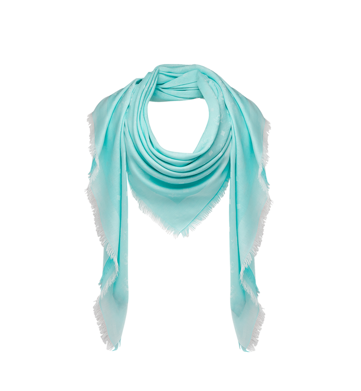 MCM Lightweight Cotton Square Scarf in Silk Wool MEF8SMM03HS001 AlternateView