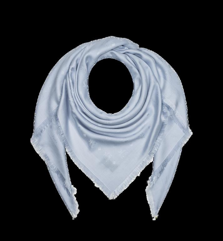 MCM Jacquard-Schal aus Seide und Wolle mit Monogramm MEF9SMM01FB001 AlternateView