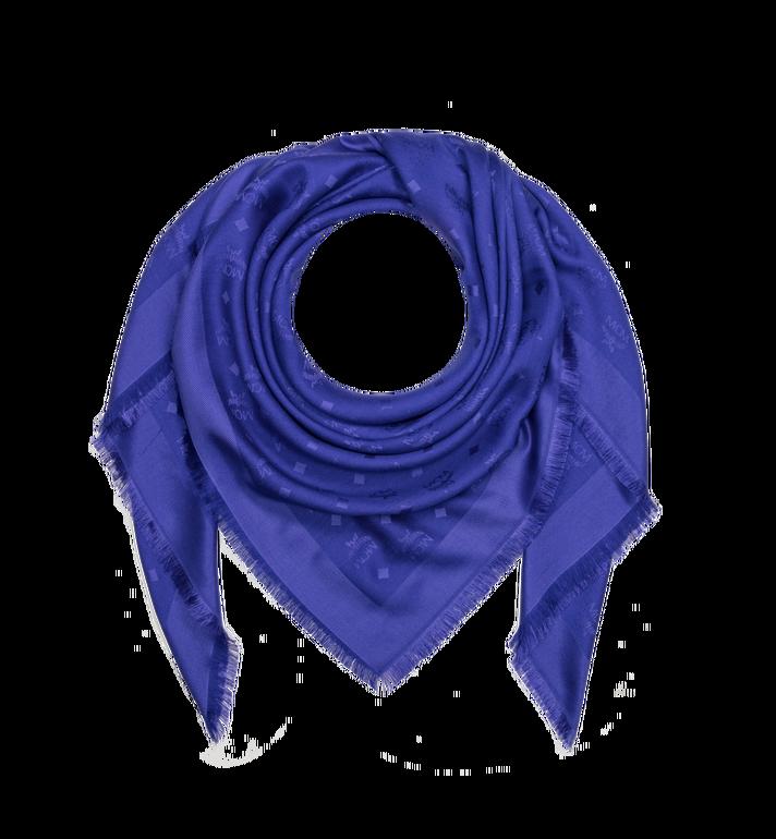 MCM Monogram Silk and Wool Jacquard Scarf MEF9SMM01HG001 AlternateView