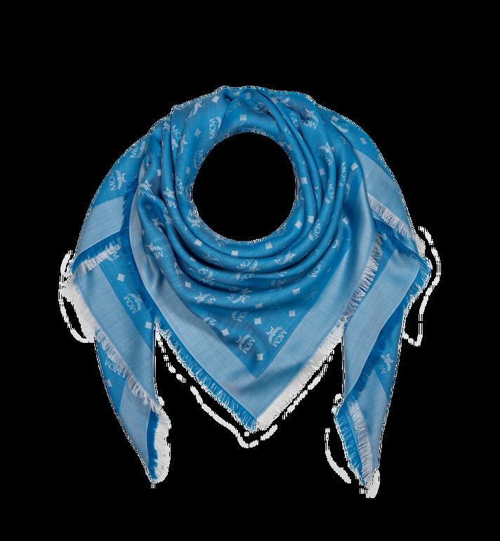 MCM Écharpe jacquard avec monogramme en soie et laine MEF9SMM01HI001 AlternateView