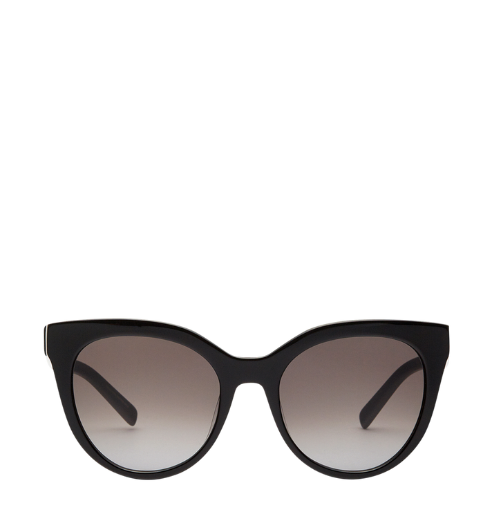 MCM Cat Eye Logo Plaque Sunglasses MEG7A2I05BK001 AlternateView
