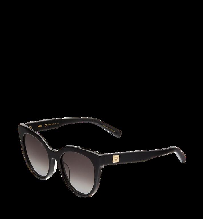 MCM Cat Eye Logo Plaque Sunglasses MEG7A2I05BK001 AlternateView2