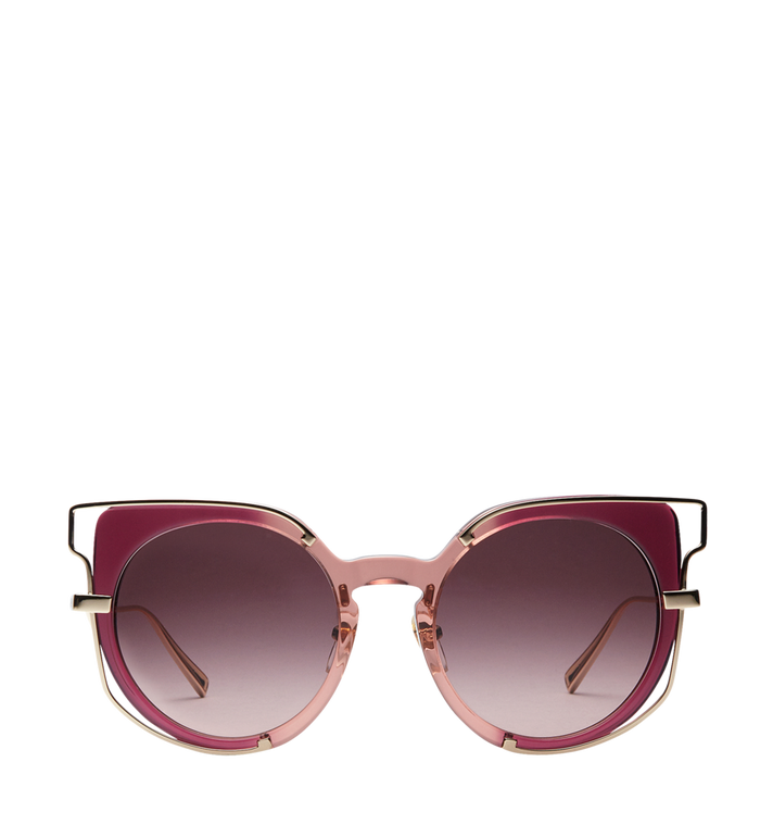 MCM Klassische Sonnenbrille mit Logo MEG8S2I05PA001 AlternateView