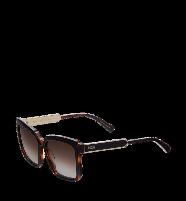 MCM Square Oversized Sunglasses MEG8S2I06NH001 AlternateView2