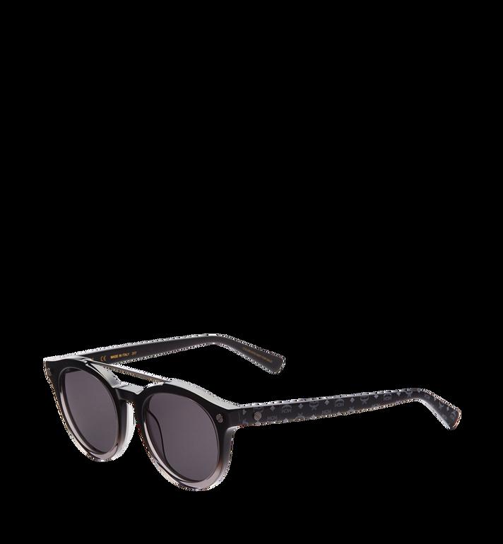 MCM Round Aviator Sunglasses MEG8S2I09BK001 AlternateView2