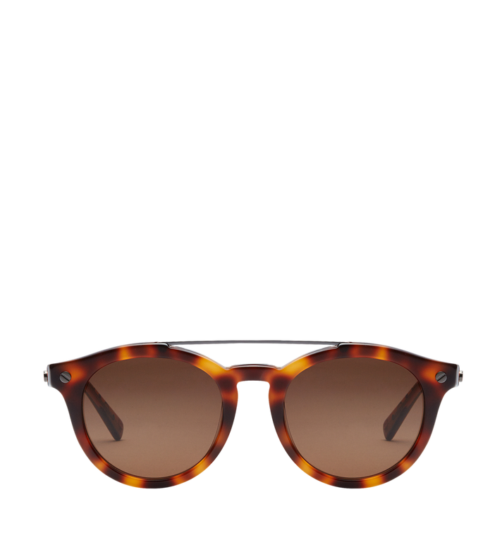 MCM Round Aviator Sunglasses MEG8S2I09NJ001 AlternateView