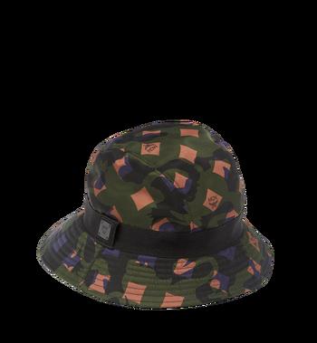 MCM Bucket Hat in Camo Nylon MEH7AMM04GX001 AlternateView