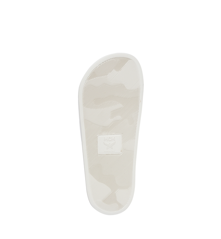 MCM Damenpantoletten aus Gummi MES7AMM02WT036 AlternateView5