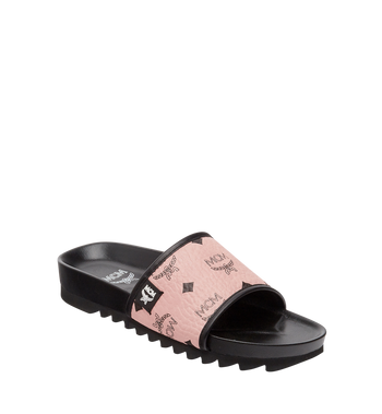 MCM Women's Slides in Visetos MES8S2K05PZ036 AlternateView