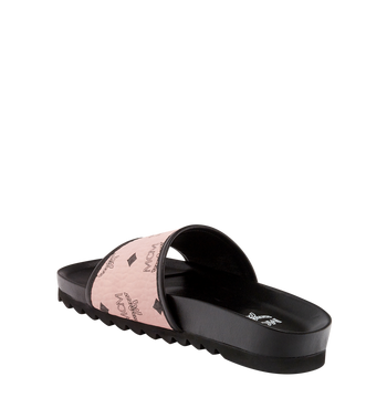 MCM Women's Slides in Visetos MES8S2K05PZ036 AlternateView2
