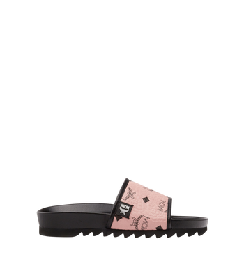 MCM Women's Slides in Visetos MES8S2K05PZ036 AlternateView3