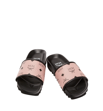MCM Women's Slides in Visetos MES8S2K05PZ036 AlternateView4