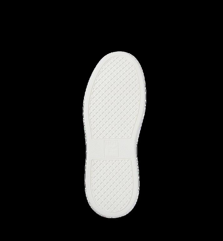 MCM Women's Slip On Diamond Sole Sneakers in Visetos MES8SMM22CO037 AlternateView5