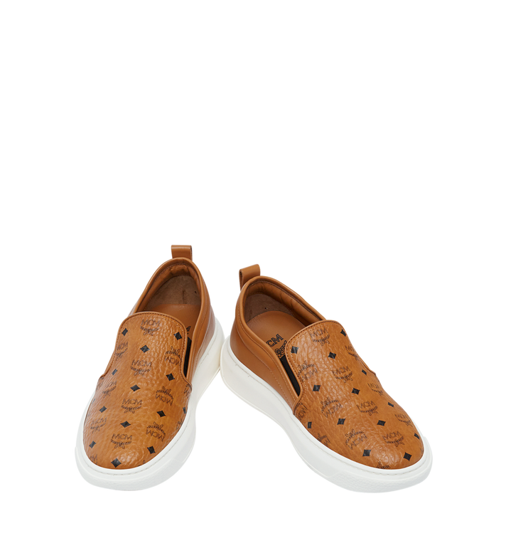 MCM Visetos Damenpantoletten Sneaker mit Diamantsohlen in Visetos MES8SMM22CO039 AlternateView4