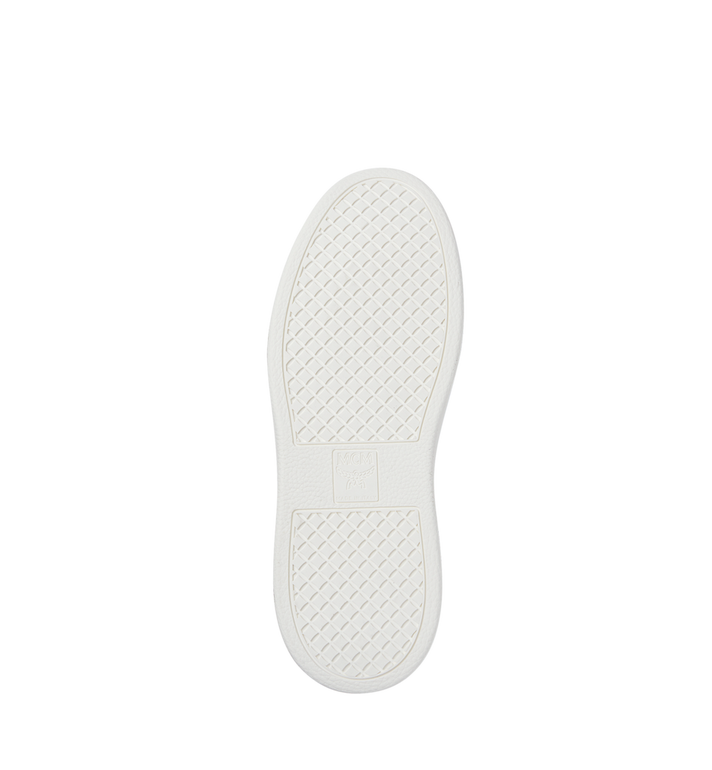 MCM Visetos Damenpantoletten Sneaker mit Diamantsohlen in Visetos MES8SMM22CO039 AlternateView5