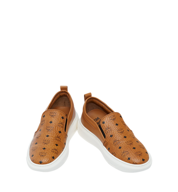 MCM Visetos Damenpantoletten Sneaker mit Diamantsohlen in Visetos MES8SMM22CO040 AlternateView4