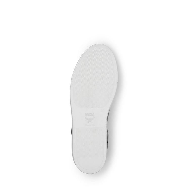 MCM Men's High Top Turnlock Sneakers in Visetos MEX7AMM02BK042 AlternateView5