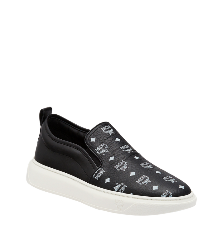 MCM Herrenpantoletten Sneaker in Visetos MEX8SMM22BK041 AlternateView