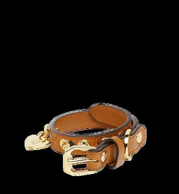 MCM Dog Collar in Visetos MEZ7AVP03CO001 AlternateView