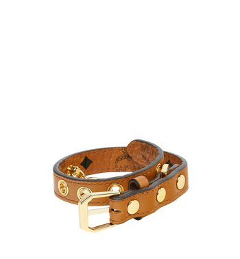 MCM Dog Collar in Visetos MEZ7AVP03CO001 AlternateView2