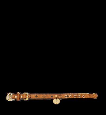 MCM Dog Collar in Visetos MEZ7AVP03CO001 AlternateView3