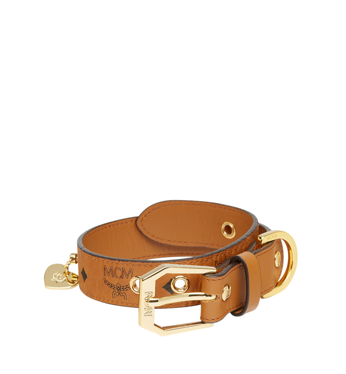 MCM Dog Collar in Visetos MEZ7AVP05CO001 AlternateView