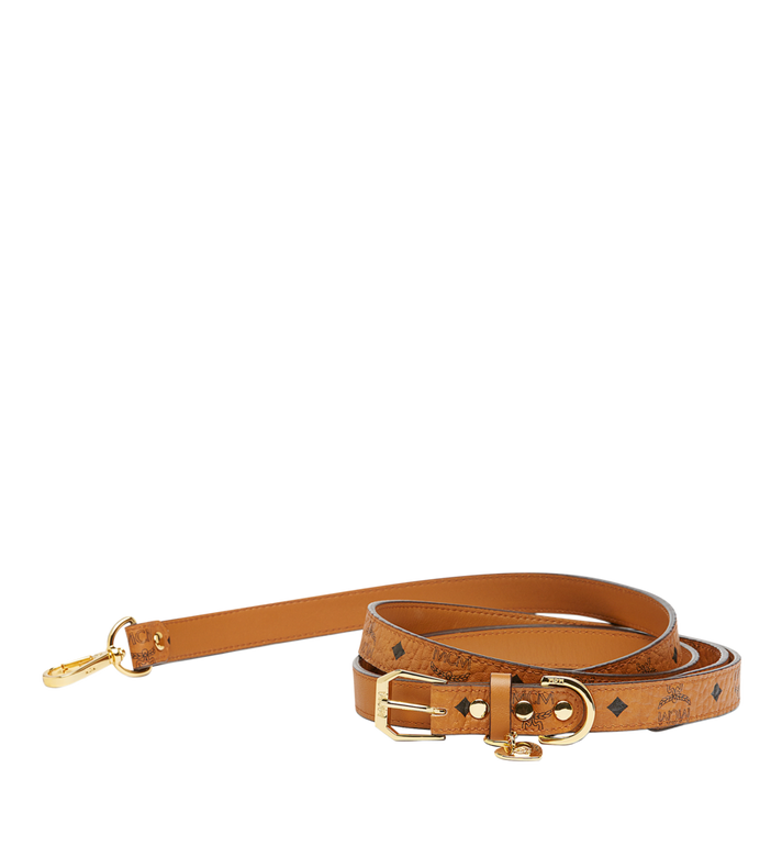 MCM Dog Collar in Visetos MEZ7AVP07CO001 AlternateView1