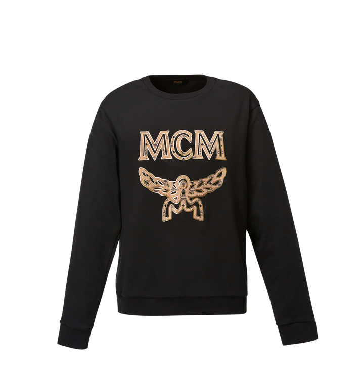 MCM Women's Classic Logo Sweatshirt MFA8SMM13BK00M AlternateView