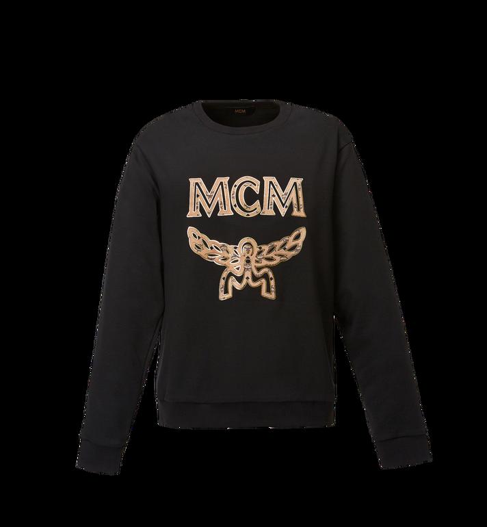 MCM Women's Logo Sweatshirt MFA8SMM13BK00S AlternateView