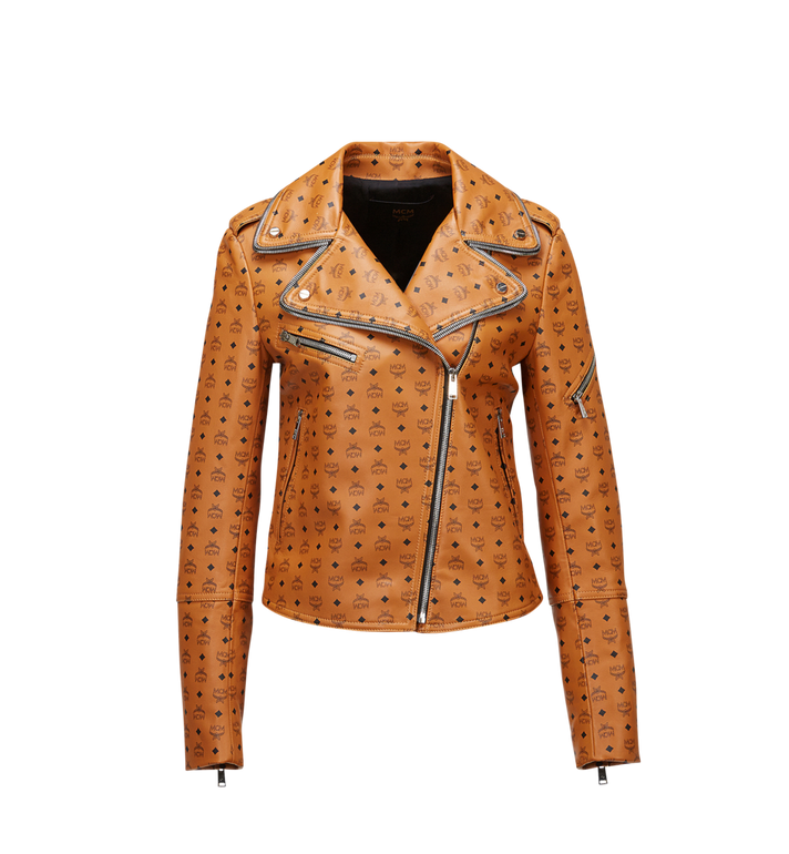 MCM Women's Visetos Print Leather Rider Jacket MFJ8SMM63CO00M AlternateView