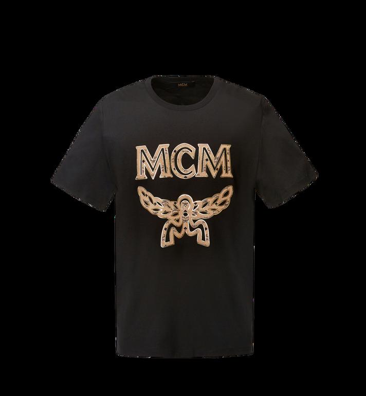 MCM Women's Classic Logo T-Shirt MFT8SMM11BK00S AlternateView