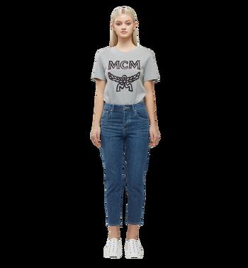 MCM Women's Logo T-Shirt MFT8SMM11EG00M AlternateView5
