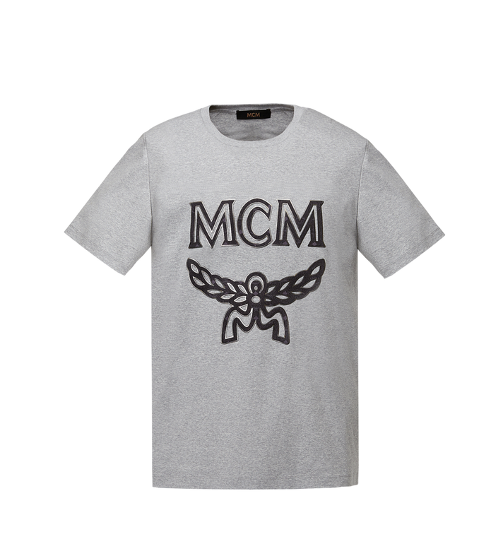MCM Klassisches Damen T-Shirt mit Logo MFT8SMM11EG00S AlternateView