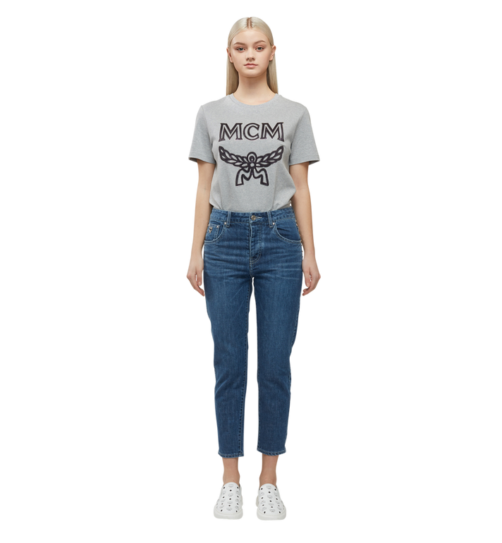 MCM Klassisches Damen T-Shirt mit Logo MFT8SMM11EG00S AlternateView5