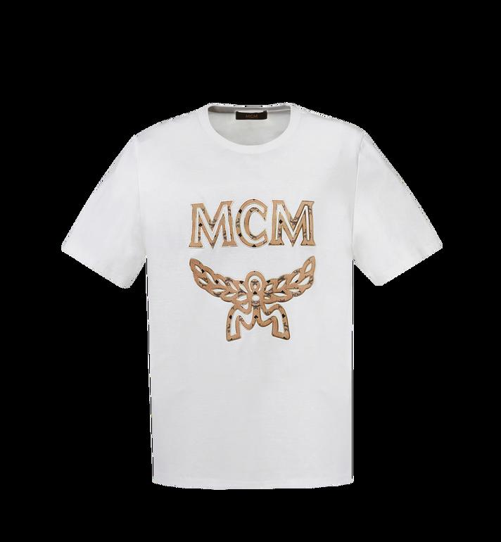 MCM T-shirt logo classique pour femme MFT8SMM11WI00L AlternateView