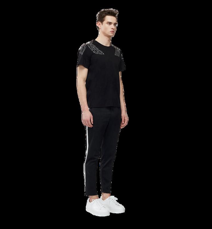 MCM Damen T-Shirt mit Lorbeer-Stickerei MFT8SMM22BK00M AlternateView5