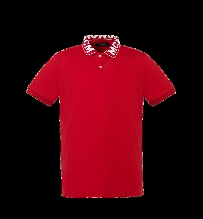 MCM Damen Poloshirt mit Logo MFT8SMM26RU00M AlternateView
