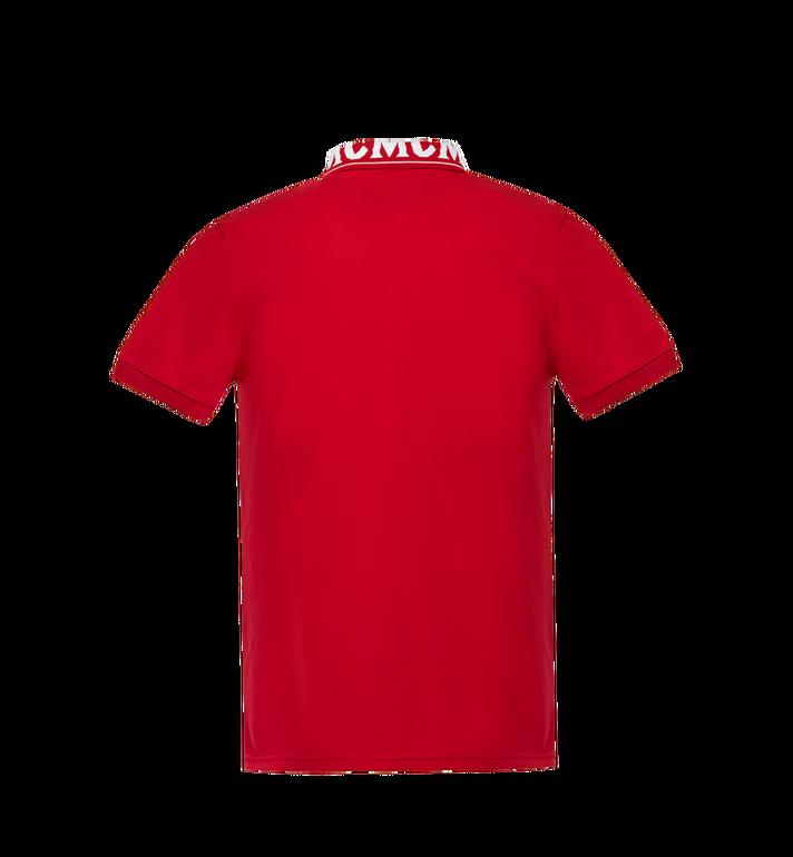 MCM Damen Poloshirt mit Logo MFT8SMM26RU00M AlternateView3
