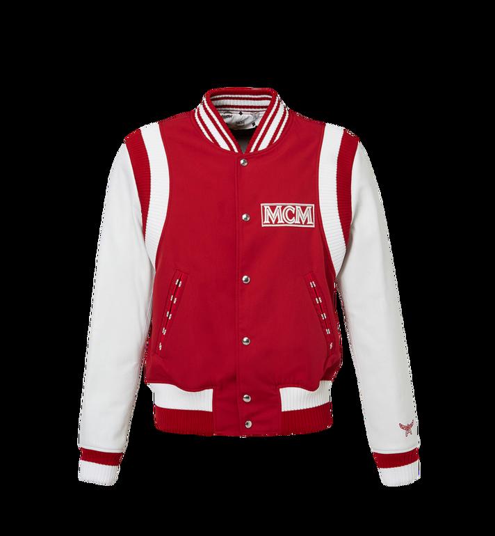 MCM Men's Classic Logo Stadium Jacket MHJ8SMM33RU00L AlternateView